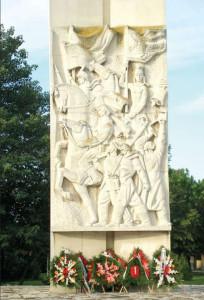 Паметникът на Съединението в град Съединение близо