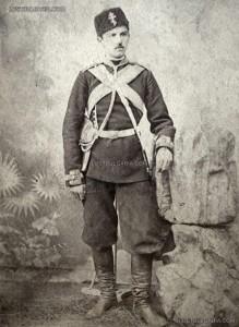 Станчо Димитриев като юнкер във Военното училище, София около 1885 г.