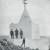 Снимка на паметника на връх Бабина глава над Цариброд.
