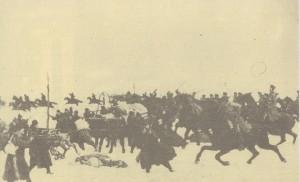 Атака-на-руската-кавалерия-на---генерал-Чернозубов-при-с.Искра.-Худ.-П.-Ковалевски