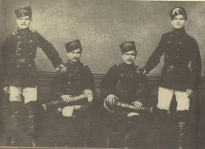 Военни-лица-от-Румелийската-милиция-в-Пловдив-1879г