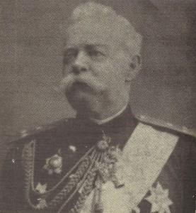 Генерал-Август-фон-Дригалски,-началник-на-Източнорумелийската-милиция-и-жандармерия-през-1884---1885