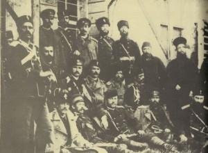 Офицери-от-Бургаския-отряд-по-време-на-мобилизацията