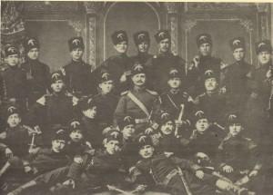 Рота-от-Румелийската-милиция-в-Пловдив-1880г