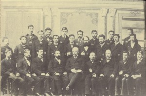 Служители-от-Дирекцията-на-правосъдието-на-Източна-Румелия-(в-средата-е-Т.-Кесяков,-директор-на-правосъдието),-21-април-1882г