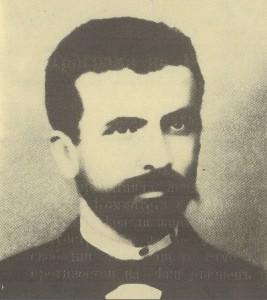 Събко-Милков,-развял-знамето-на-Съединението-в-Панагюрище-на-2(14)-Септември-1885г