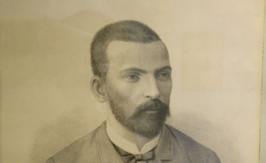Захари Стоянов, портрет нарисуван от Георги Данчов-Зографина