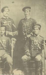Доброволци-в-Сръбско-българската-война-1885г