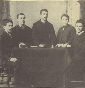 Настоятелството-на-печатарското-дружество-Капина-изградено-през-1883г-в-Пловдив-за-защита-на-професионалните-интереси-на-работниците
